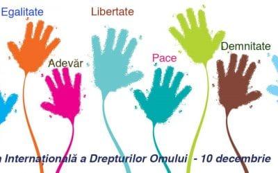 10 decembrie – Ziua Internațională a Drepturilor Omului